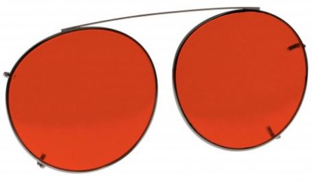 ORANGE LENS EYEWEAR FRAME 20 LARGE HOOK ON SKU 1447283687521