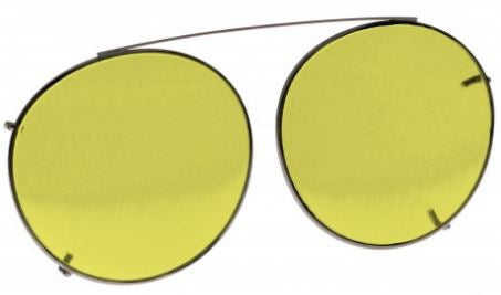 YELLOW LENS EYEWEAR FRAME 20 LARGE HOOK ON SKU 1447283916897