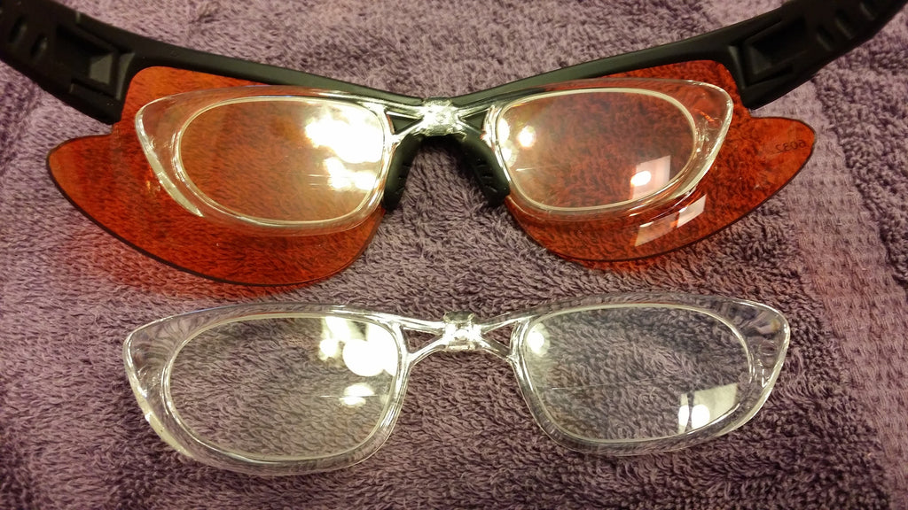 Frame #34/34W BLANK Rx EXTRA SPARE INSERT SKU 8392437127 . This insert is taken to one's Optometrist to have the one's prescription lenses installed. 3.3 grams before lenses installed.