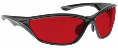 RED LENS Dim Light Melatonin Onset Eyewear frame 45 BLACK Wrap Around Style MEDIUM/LARGE SKU 252394340381