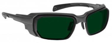 GREEN LENS Dim Light Melatonin Onset Eyewear frame 46 BLACK Wrap Around Style MEDIUM/LARGE SKU 252537471005