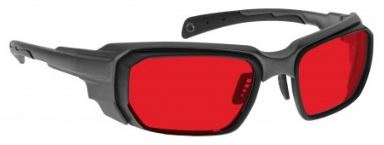 RED LENS Dim Light Melatonin Onset Eyewear frame 46 BLACK Wrap Around Style MEDIUM/LARGE SKU 252510863389