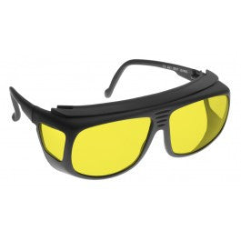 YELLOW LENS Dim Light Melatonin Onset Eyewear frame 31 BLACK Deep Fit-Over Style SMALL SKU 8280132551