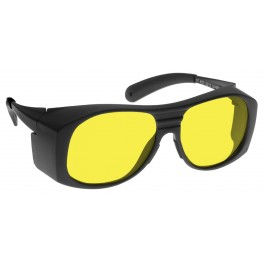 YELLOW LENS Dim Light Melatonin Onset Eyewear frame 33 BLACK Fit-Over Style MEDIUM/LARGE SKU 8281080071