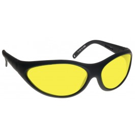 YELLOW LENS Dim Light Melatonin Onset Eyewear frame 35 BLACK Wrap Around Style MEDIUM/LARGE SKU 8282023431