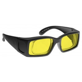 YELLOW LENS Dim Light Melatonin Onset Eyewear frame 55 BLACK Prescription Insert MEDIUM SKU 8284965319