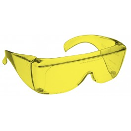 YELLOW LENS Dim Light Melatonin Onset Eyewear non-framed 700 Fit Over Style MEDIUM SKU 8285787847