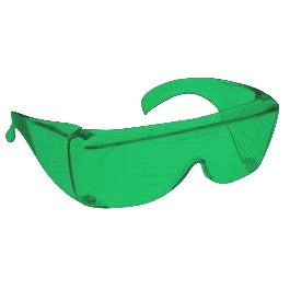 GREEN LENS MIGRAINE RELIEF Eyewear non-framed 700 Fit Over Style MEDIUM SKU 8233121159