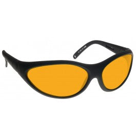 ORANGE LENS Dim Light Melatonin Onset Eyewear frame 35 BLACK Wrap Around Style MEDIUM/LARGE SKU 568324673