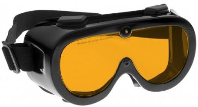 ORANGE LENS Dim Light Melatonin Onset Eyewear frame 60 BLACK Wrap Around Goggle SMALL-LARGE SKU 589323457