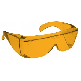 ORANGE LENS Dim Light Melatonin Onset Eyewear non-framed 700 Fit Over Style MEDIUM SKU 589593985
