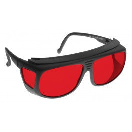 RED LENS Dim Light Melatonin Onset Eyewear frame 31 BLACK Deep Fit-Over Style SMALL SKU 7745690375