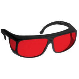 RED LENS Dim Light Melatonin Onset Eyewear frame 38 BLACK Fit-Over Style LARGE SKU 7750542023