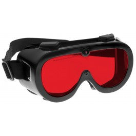 RED LENS Dim Light Melatonin Onset Eyewear frame 60 BLACK Wrap Around Goggle SMALL-LARGE SKU 7758419399