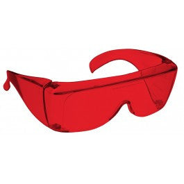 RED LENS Dim Light Melatonin Onset Eyewear non-framed 700 Fit Over Style MEDIUM SKU 7758658055