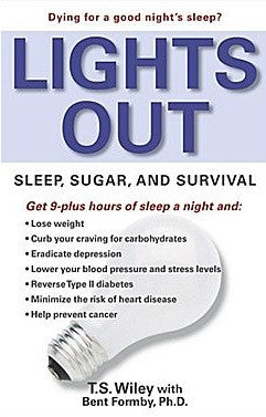 light hygiene book: LIGHTS OUT Sleep, Sugar And Survival *FREE LIBRARY BOOK*