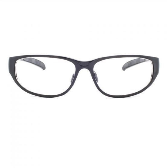 ORANGE LENS 533 BLACK Wrap Around Style LARGE