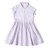 Button Dress Pinstripe