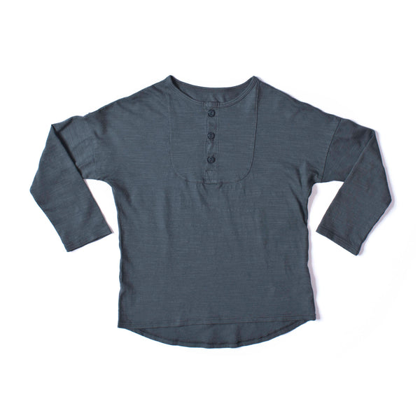 Long Sleeve Henley Storm