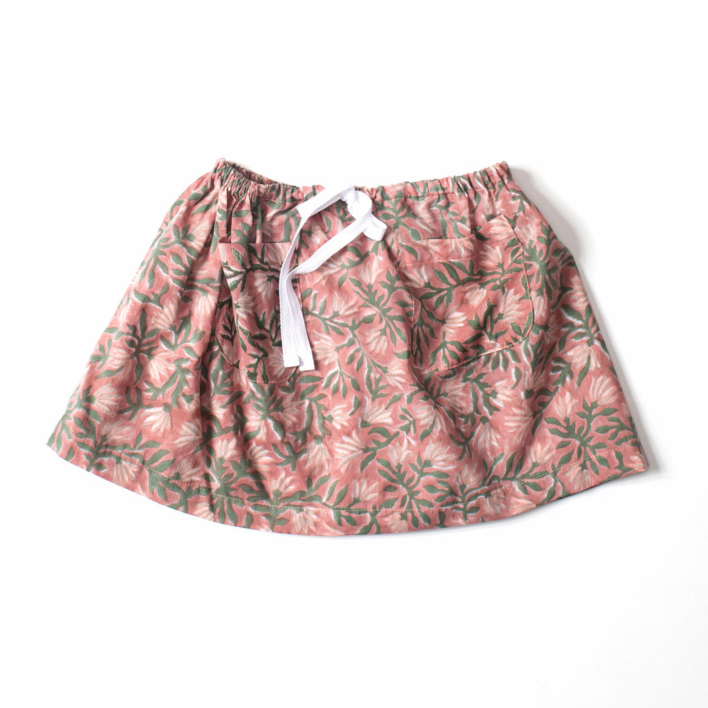 Twirl Skirt Fall Flower