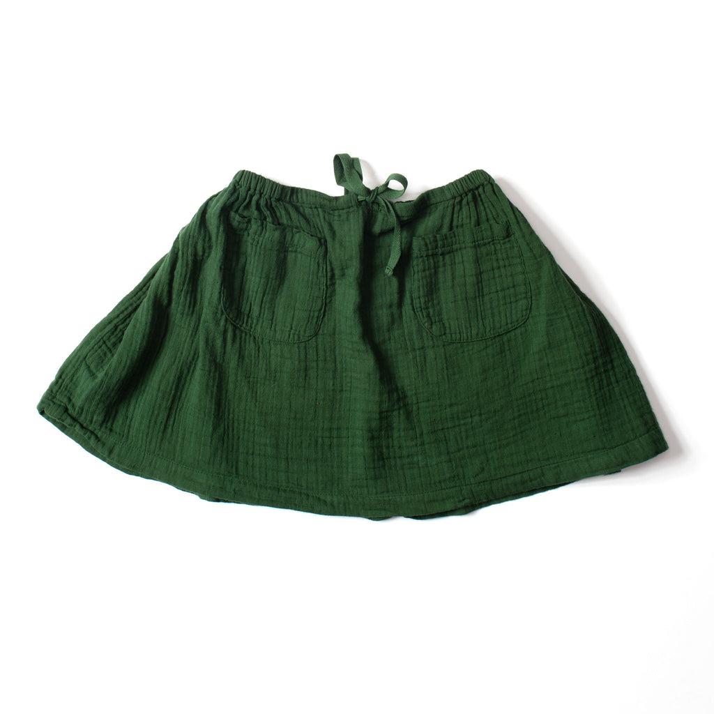 Twirl Skirt Deep Green