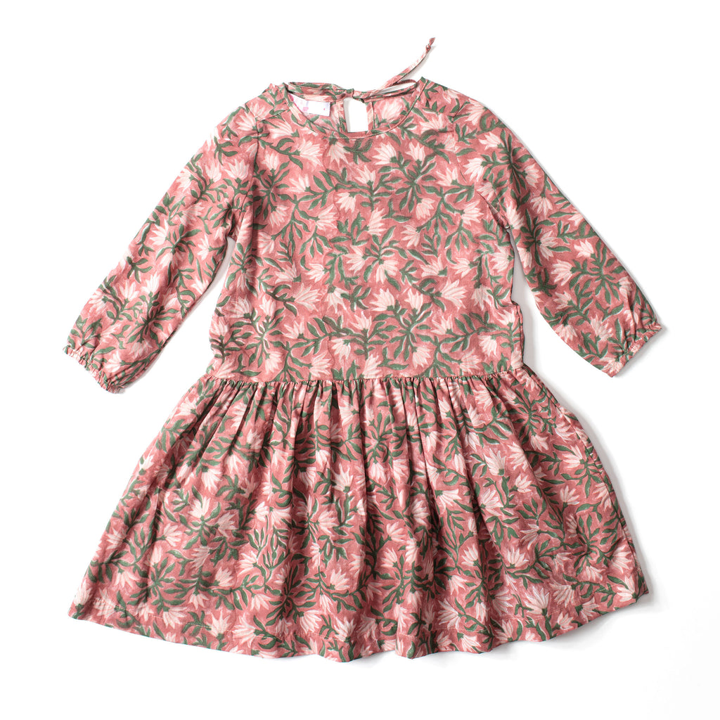Tie Dress Fall Flower