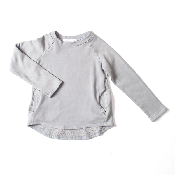 Weekend Sweatshirt Silver Gray