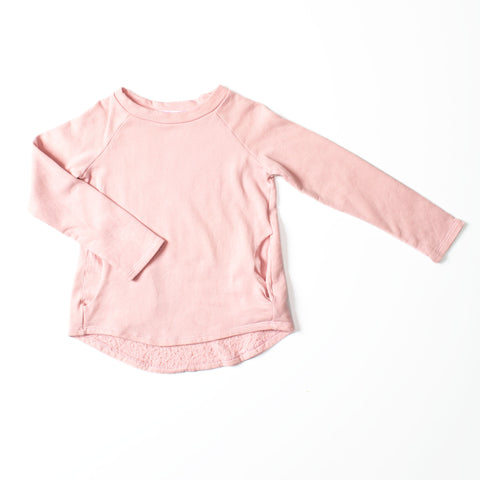 Weekend Sweatshirt Tea Pink