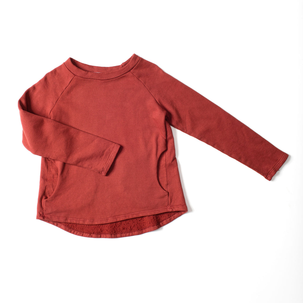 Weekend Sweatshirt Marsala