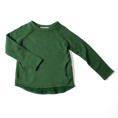 Weekend Sweatshirt Deep Green