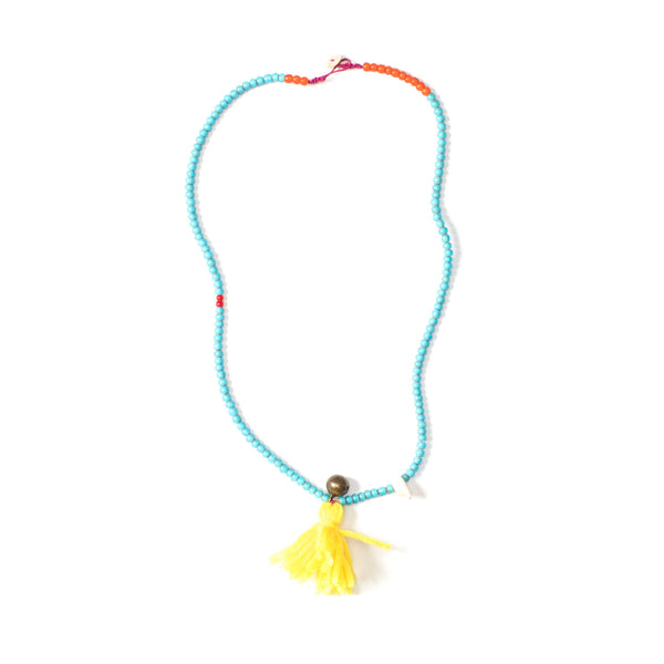Glassbead Necklace Turquoise