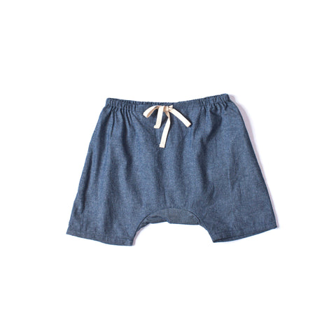 Play Short Chambray
