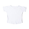 Simple Short Sleeve Tee White