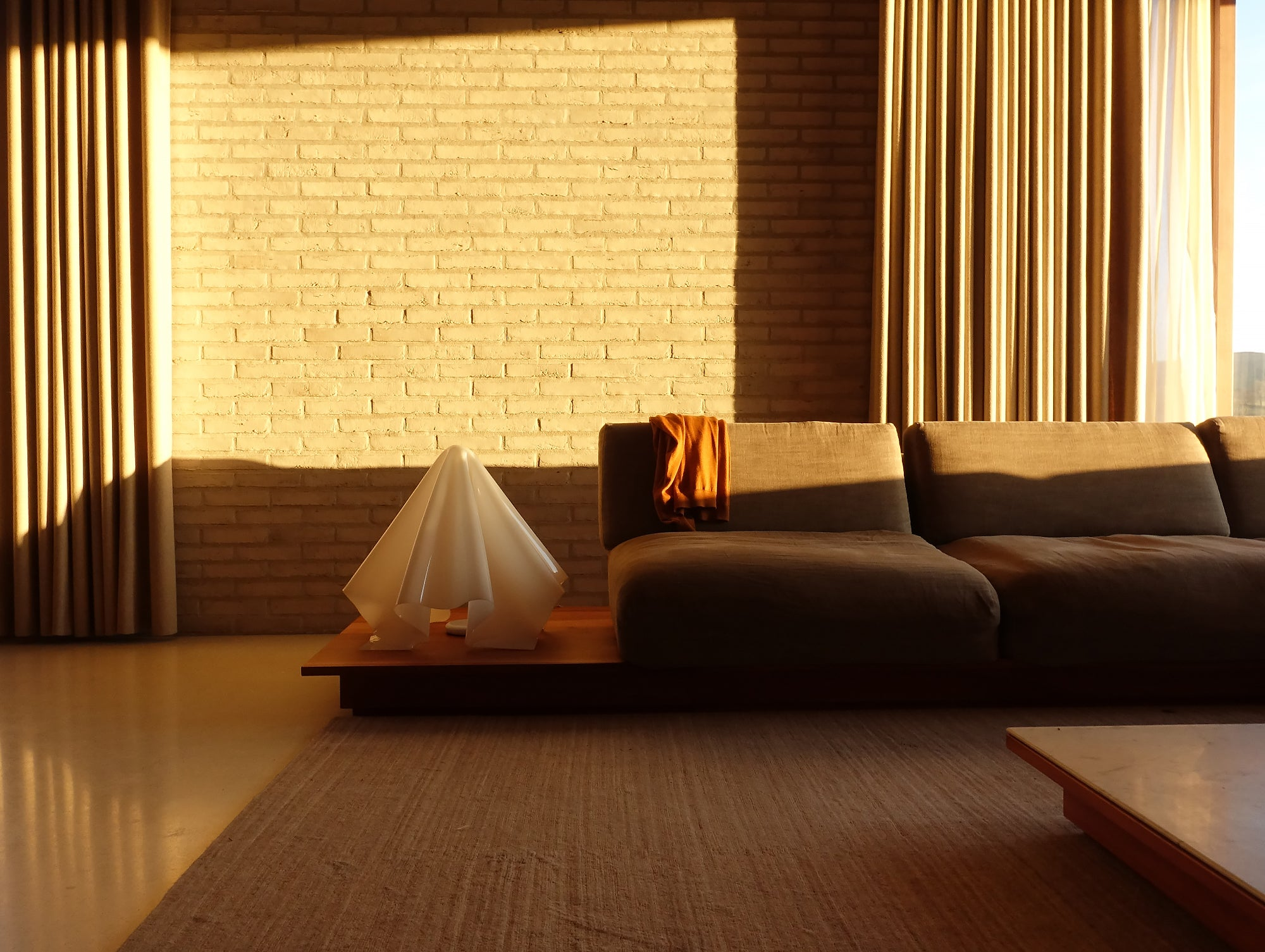 John Pawson Life House, Lounge Interior