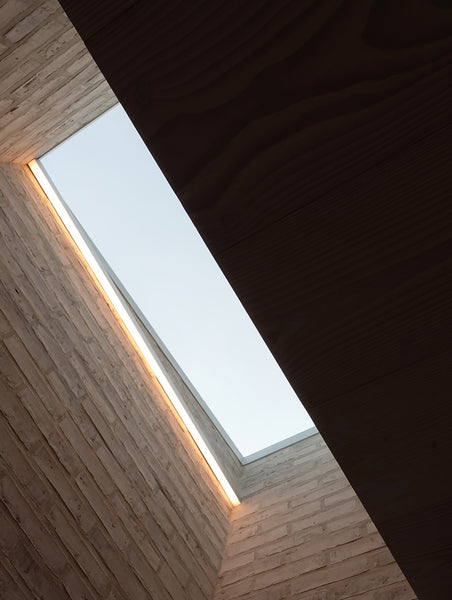 John Pawson's Life House - Ceiling windows