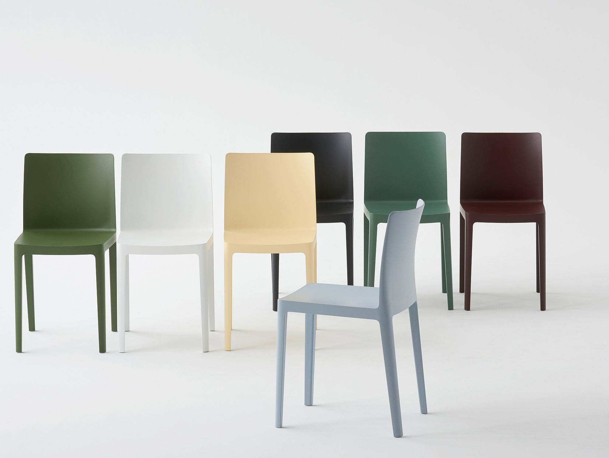 Élémentaire chair family by HAY