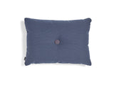 1 Dot Dark Blue Steelcut Trio Dot Cushion by HAY