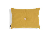 1 Dot Golden Yellow Steelcut Trio Dot Cushion by HAY