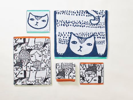 Folk Towels by Donna Wilson