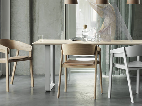 70/70 Table by Muuto - Oak / Grey