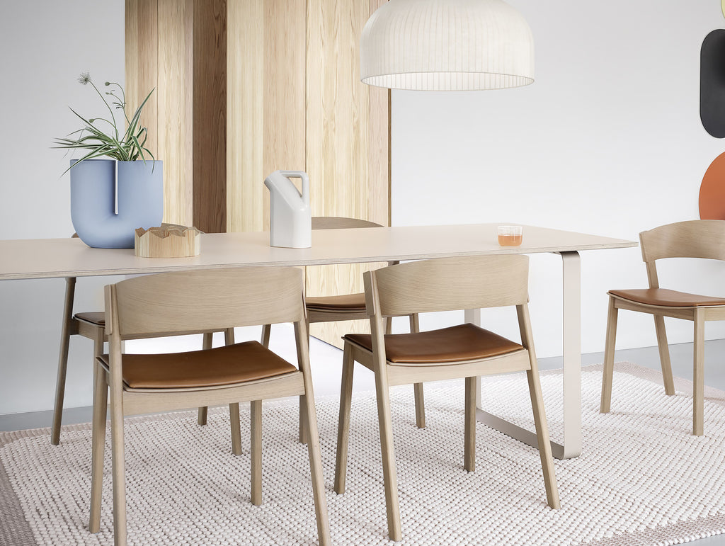 70/70 Table by Muuto - Sand / Sand