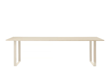 Muuto 70/70 Table Oak Top / Sand Frame / 255 x 108 cm