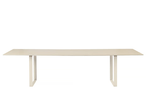 Muuto 70/70 Table Oak Top / Sand Frame / 295 x 108 cm