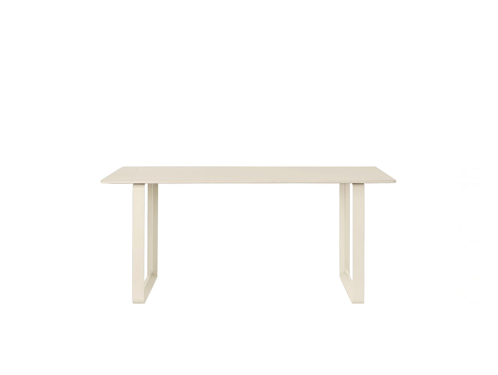 Muuto 70/70 Table Sand Laminate Top / Sand Frame / 170 x 85 cm