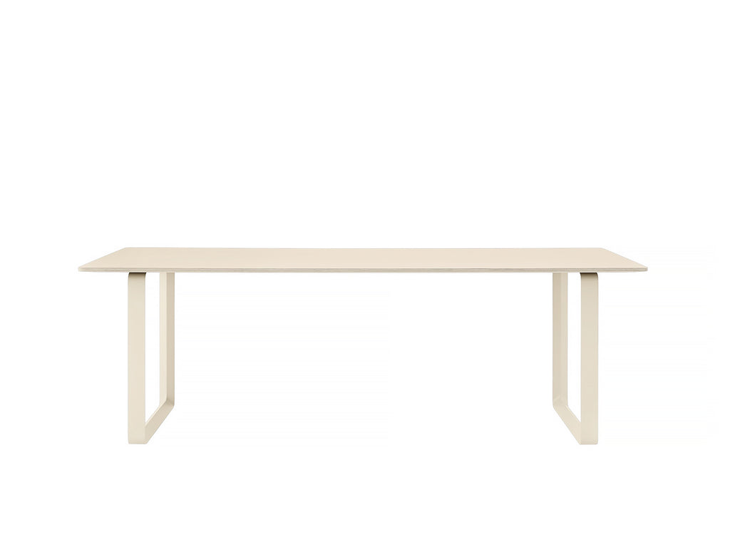 Muuto 70/70 Table Sand Laminate Top / Sand Frame / 225 x 90 cm