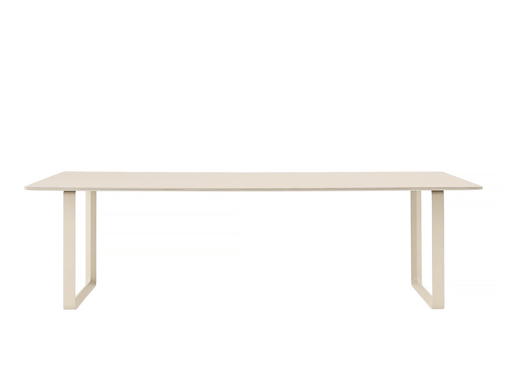 Muuto 70/70 Table Sand Laminate Top / Sand Frame / 255 x 108 cm