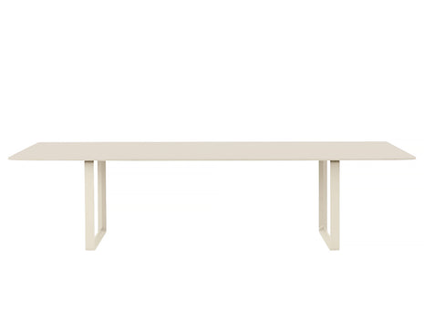 Muuto 70/70 Table Sand Laminate Top / Sand Frame / 295 x 108 cm