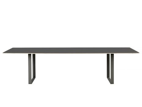70/70 Table by Muuto - 295 x 108 - Black / Black