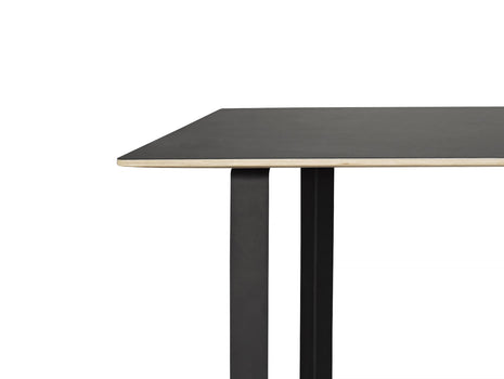 70/70 Table by Muuto - Black / Black