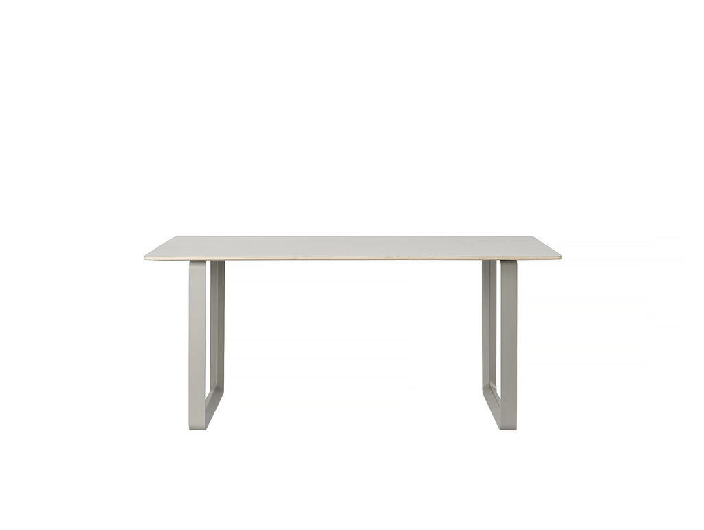 70/70 Table by Muuto - 170 x 85 - Grey / Grey